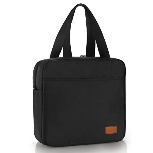 Aosbos - Lunch Bag adulte couleur noire 7L