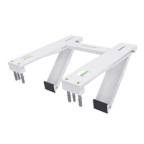 Forestchill Window Air Conditioner Bracket, Heavy Duty AC Support Brackets with 2 Arms, Fit 5,000 to 22,000 BTU A/C...