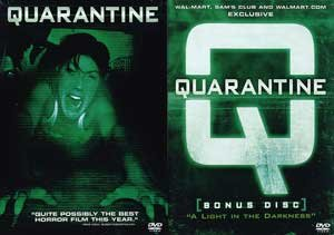 Quarantine (Widescreen) (with FREE Bonus DVD, 'Quarantine: A Light in the Darkness' Documentary) (2-DVD)