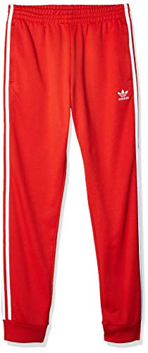 adidas Mens SST Track Pants, Lush Red, M