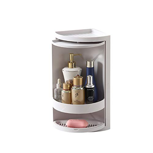 Badezimmer Regal, Badezimmer dusche lagerung, dusche Regal Ecke, mehrschichtig, drehbar, für die Organisation und mit handseife, körper waschen