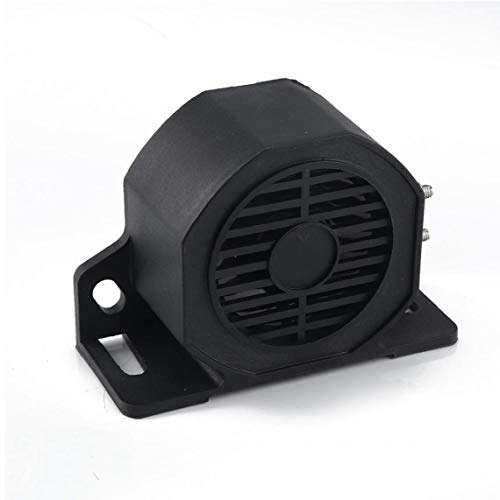 12V-24V 107dB impermeable de alta resistencia Alarma de seguridad de advertencia con el Super tono audible de tono para camiones Van Coche de carga de camiones pesados ??VehiclesVehicle Tecnología