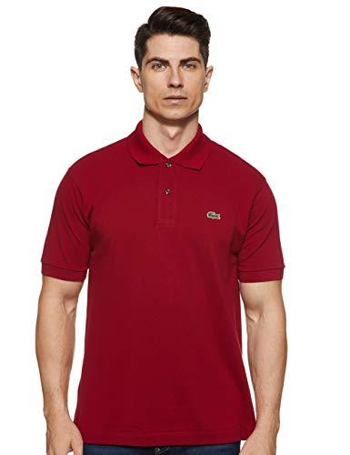 Lacoste L1212 Camiseta Polo, Rojo (Bordeaux), 5XL para Hombre