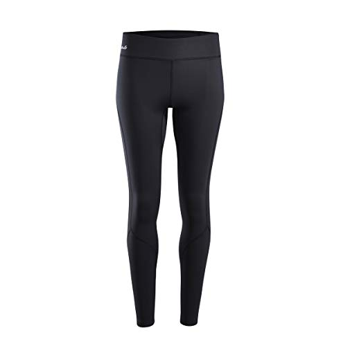 Sub Sports Fitted Cold Womens Thermal Fitted Baselayer Leggings/Tights Winter, L, Black Stealth