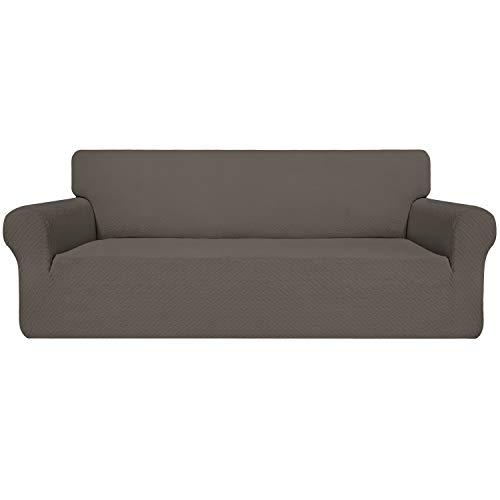 Easy-Going Funda de sofá elástica fácil de Llevar, Funda de sofá para Sala de Estar, Funda de sofá Jaquard, cómoda y Duradera.
