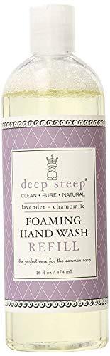 DEEP STEEP - Foaming Hand Wash Refill Lavender Chamomile - 16 fl. oz. (474 ml)