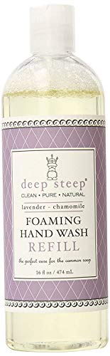 Deep Steep Foaming Hand Wash Refill, Lavender Chamomile, 16 Ounce