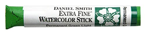 DANIEL SMITH Extra Fine Watercolor Stick 12ml Paint Tube, Permanent Green Light