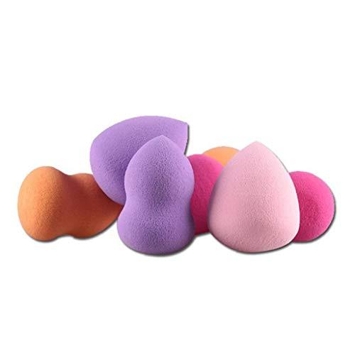 4pcs Chic Goutte Gourd Style Blender Multi Style Éponges Blender Beauté Maquillage Parfait Blender Foundation