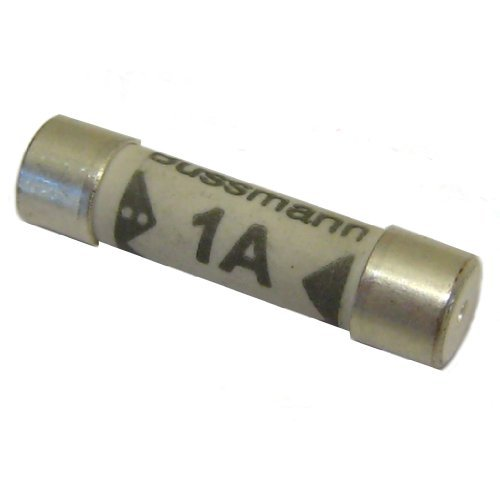 All Trade Direct 10 X 1 Amp Domestic 240V Household Mains Plug Fuse Electrical Cartridge Fuses by All Trade Direct