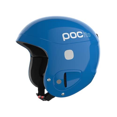 POC POCito Skull - Casco de esquí unisex, Azul fluorescente, XS-S (51-54 cm)