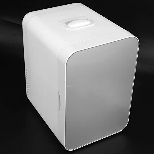 Mini Frigorifero Mini Auto Frigorifero 8L Semiconduttore Singola Porta Auto Sistema di Casa Refrigeratore E Scaldatore per Auto Case Uffici E Dormitori 12V Accendino per Sigari Plug USA 110V