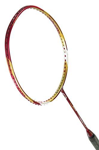 Li-Ning AYPE016 Woods N90 II Badminton Racquets,Red/gold