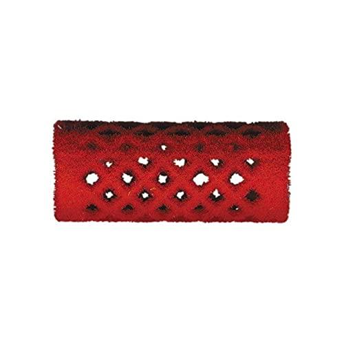 rouleaux velours rouge 18 m ml court x12