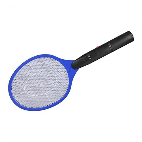 XUEXIU Electric Fly Swatter Wattle Home Fly Swatter Mosquito Bug Zapper Uccide Le Zanzare Maglia di Sicurezza Cordless Anti Zanzara Bug Utilizzare La Batteria AA AA (Color : 2)