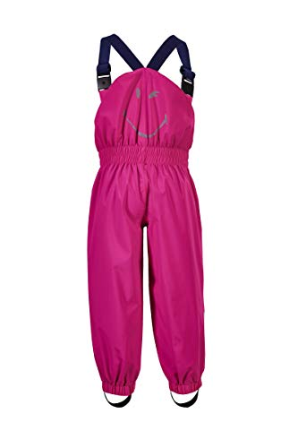 Killtec Kinder Regenhose Jaely Mini, Farbe:neon pink, Größe:122/128