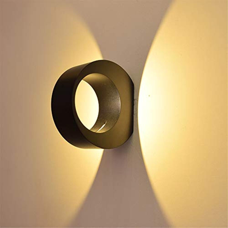 Ehime Wandspots Wandbeleuchtung Praktische Anti-Korrosion LED Nachttischlampe einfache Wandlampe