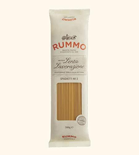Rummo - Spaghetti n.3 Bronze Gezeichnete - 24 Packungen mit 500 g