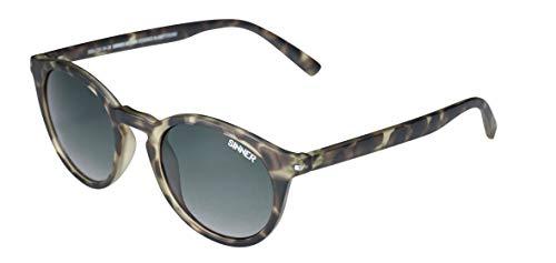 SINNER Zonnebrillen Dames en Heren in Verschillende Modische Kleuren - Vrouwen Brillen Rond, Retro & Vintage Design - 100% UV400 Bescherming & Niet-gepolariseerd
