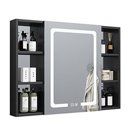 Specchio da Bagno in Alluminio Space Specchio da Bagno specchiera da Trucco a Parete specchiera da Parete con Luce