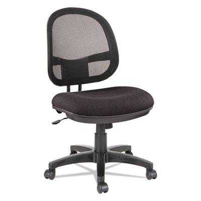 Alera ALE Interval Series Swivel/Tilt Mesh Chair, Black