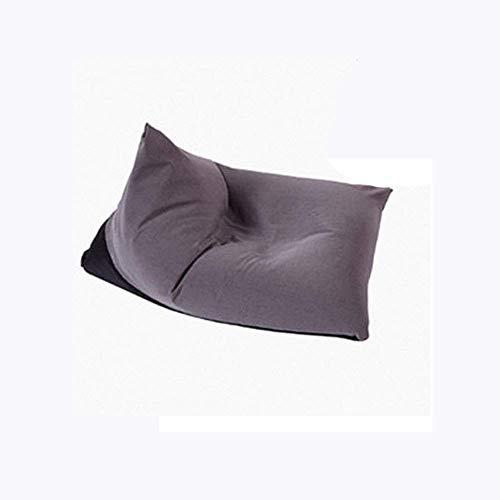 BBGSFDC Erwachsene Highback Sitzsack Großer Stuhl für Innen- und Außenbereich - Wasserbeständig - perfekte Lounge oder Spielstuhl - Haus oder Garten, rot-OneSize, Möbel (Color : Grey, Size : OneSize)