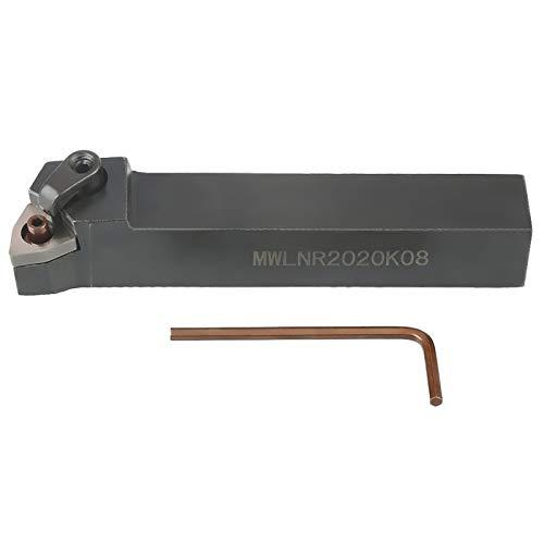 Soporte de inserto resistente, con llaves hexagonales Portaherramientas de torno, reemplazo de insertos de alta resistencia de agarre para insertos tipo Wnmg0804 Máquinas herramientas de