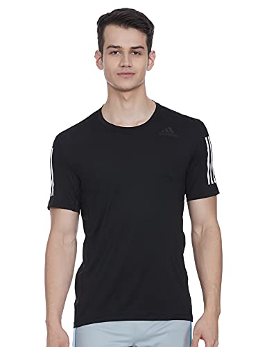 adidas GL0460 TF SS FTD 3S T-Shirt Mens Black 3XLT