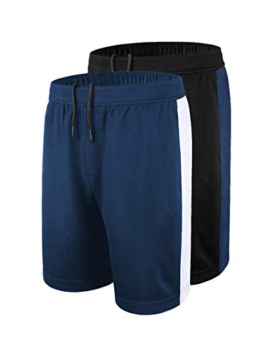DISHANG Men's Performance Basketball Shorts Active Athletic Lightweight...