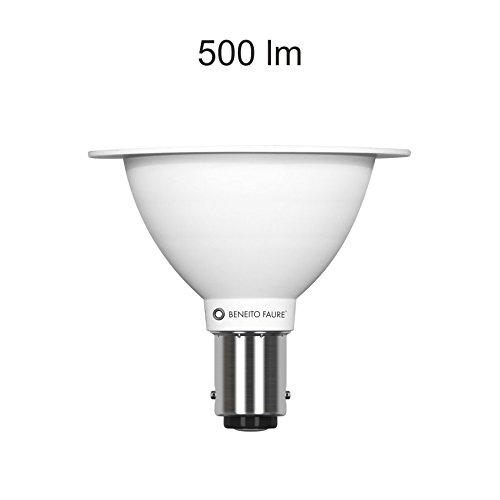 Lámpara LED Max AR70Beneito Faure BA15D/B15d 7W 12V 24º 2700