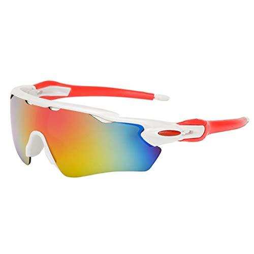Tenebrose Sports Men's Sunglasses (White)
