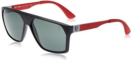 Ray-Ban 0RB4309M Gafas de sol, Matte Black, 59 para Hombre