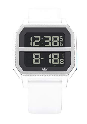Adidas Watches Archive_R2. Correa de silicona gris, 22 mm de ancho