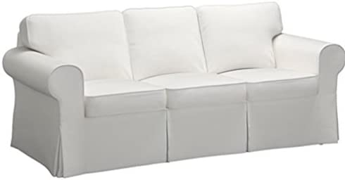 Best The Sofa Cover is 3 Seat Sofa Slipcover Replacement. It Fits Pottery Barn PB Basic Three Seat Sofa (