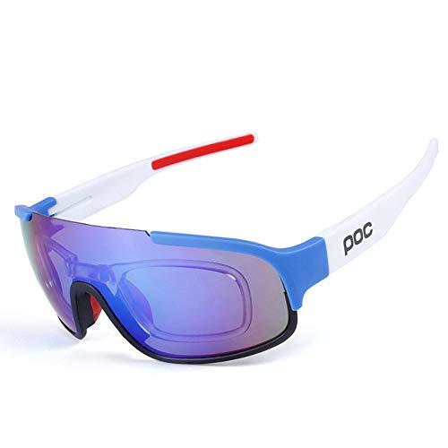 Gafas de sol polarizadas deportivas, ciclismo al aire libre hombre mujer gafas de bicicleta para montar a caballo, conducir, pesca, viajes y deportes