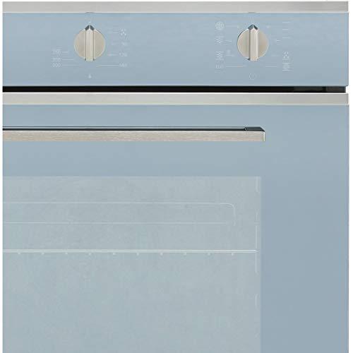 Smeg SF64M3TVS Forno da Incasso Ventilato, Classe A, 60 cm, Estetica Selezione, Silver Glass