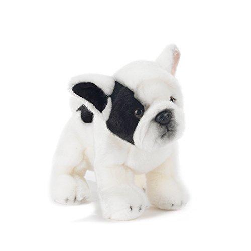 Peluche de cachorro de bulldog francés - 30 cm