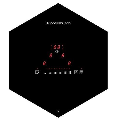 Küppersbusch EKWI3740.0S Induktion Wabenkochfeld, Glas/Metall, Schwarz