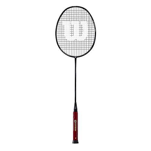 Wilson Badminton-Schläger, Blaze SX8800 J CV, Unisex, Griffstärke: 5, schwarz/schwarz, Neutral, WRT8826084