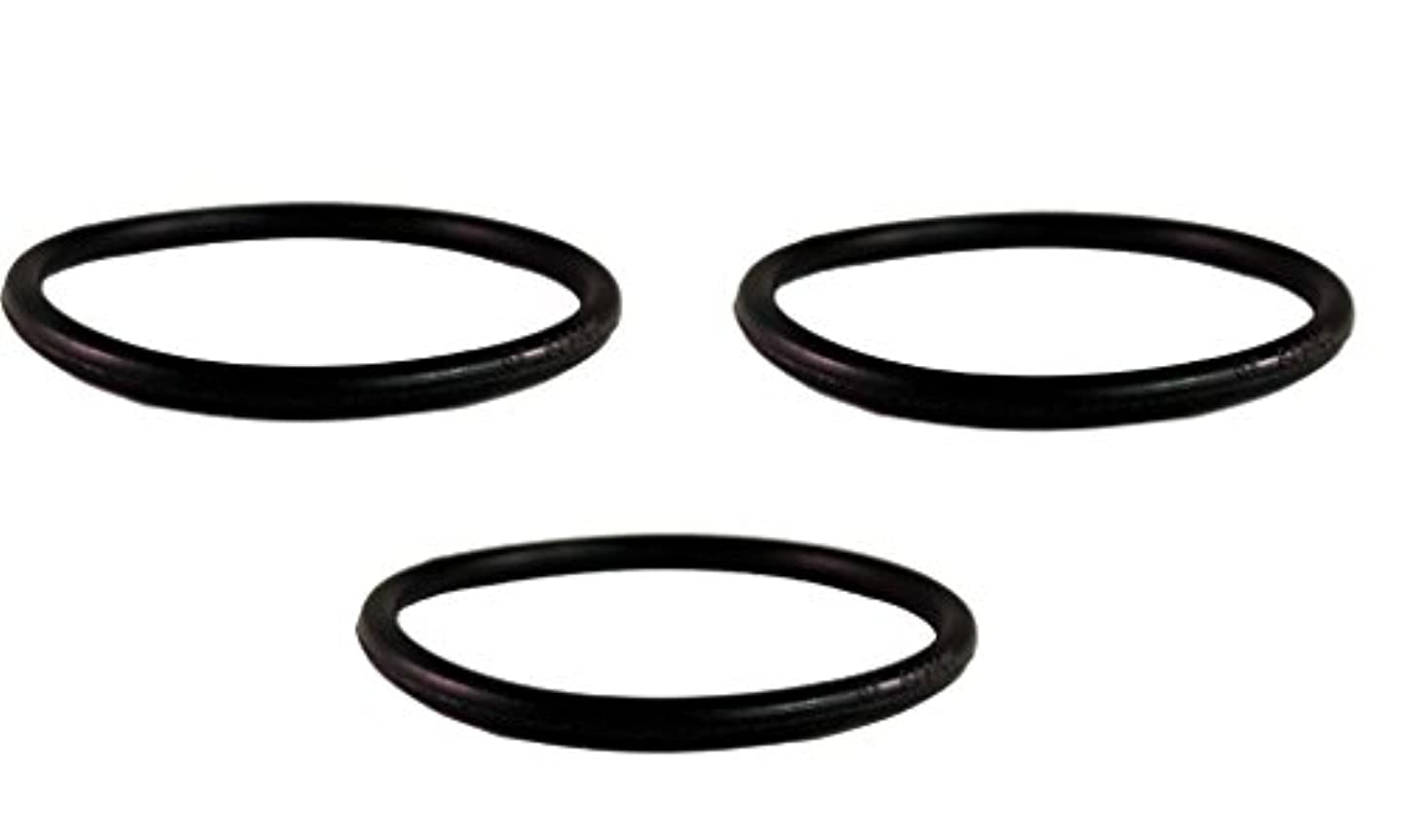 Sanitaire Upright Round Vacuum Cleaner Belt, designed to fit all Sanitaire Uprights where the belt rides in the center of the brushroll, 3 belts in pack