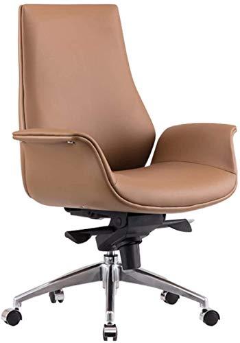LIUBINGER Silla de Oficina Sillas de Oficina para el hogar Sillas de Escritorio de Oficina Sillas de gestión, sillas ejecutivas 360 Grados Giratorio Ajustable Altura de Asiento