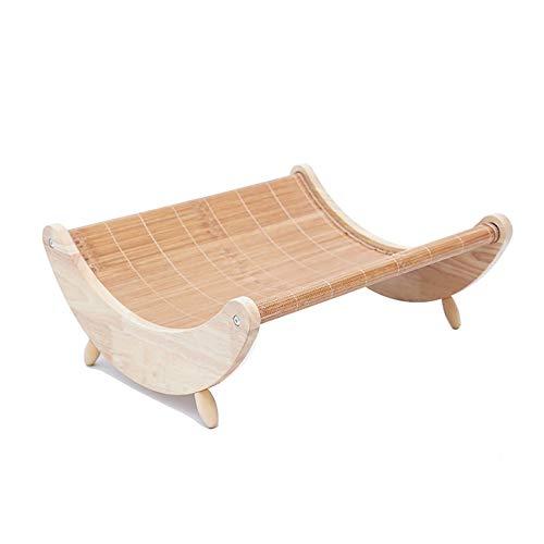 Jnzr Huisdier schommelstoel, Wasbaar Huisdier Zomer Cool Shake Shaker Dual-use Design Kat Bed Zomer Huisdier benodigdheden