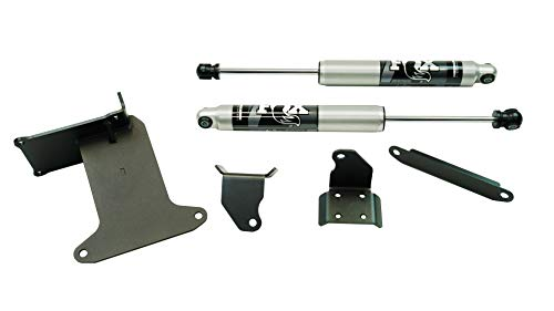 SUPERLIFT |92722| Dual Steering Stabilizer Kit with Fox 2.0 Shocks for 2005-2021 Ford F-250/F-350 Super Duty 4 Wheel Drive