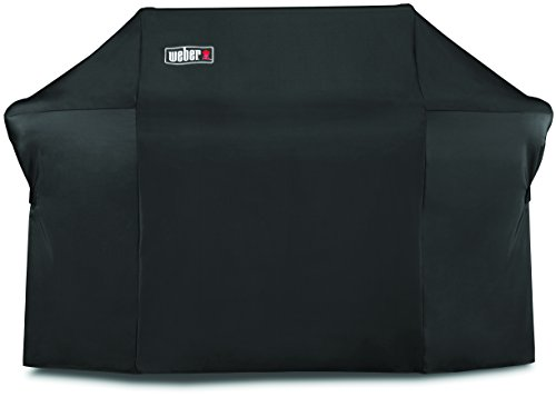 Weber Cover Deluxe for Barbecue Summit 600 Black