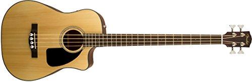 Fender 0961560021 CB-100CE - Guitarra baja, color natural