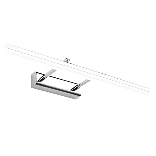 SOARLL- Spiegel Voorlicht Verstelbare Dressing Tafel Licht Badkamer Spiegel Voorlicht Kleding Winkel Fitting Spiegelkast LED Wandlamp [Energie Klasse A ++] (Kleur : Neutraal Licht)