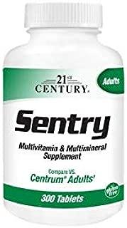 21st Century Sentry Multivitamin & Multimineral Supplement, 300 Tablets