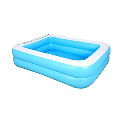 Family Inflatable Ground Swimming Pool Wannen Badewannen Klappbare Badewannen Für Erwachsene, Swim Center Paradise Haushalt Baby Wear-Resistant Dick Marine Ball Pool