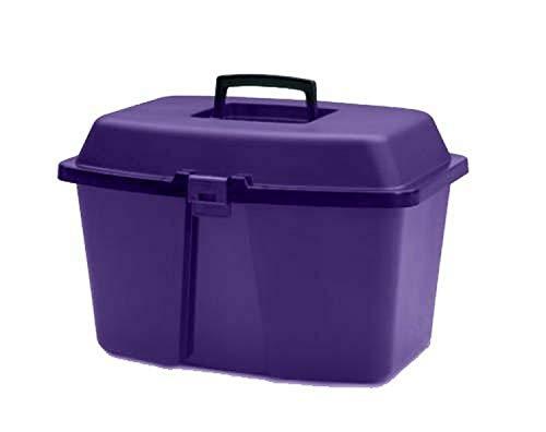 Horsemen's Pride Ascot Box, Small, Purple by Horsemen's Pride