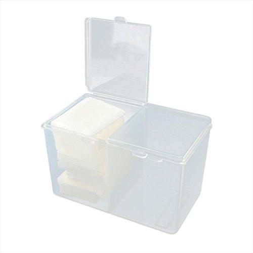 Ouneed Maquillage Rangement Tiroir Transparent Organisateur - 2 Compartements (Clear)